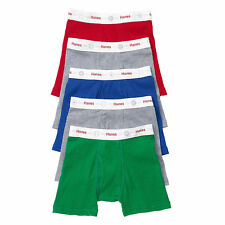 Hanes Toddler Boys' Boxer Briefs with Comfort Flex Waistband 5-Pack NWT TB74P5