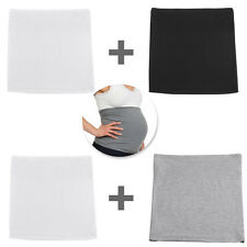 2PCS MATERNITY PREGNANCY QUALITY BELLY BAND BELT BAND TOP NURSING TUMMY COVER