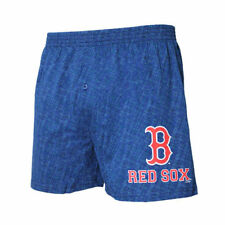 Boston Red Sox Concepts Sport Showdown Knit Boxer Shorts - Navy - MLB