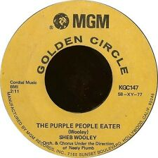 Sheb Wooley The Purple People Eater / I Cant Believe Youre Mine MGM Records