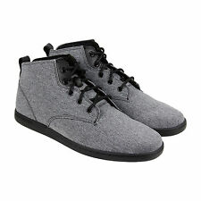 Creative Recreation Vito Mens Black Textile Lace Up Sneakers Shoes