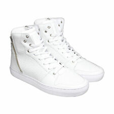 Creative Recreation Adonis Mens White Leather High Top Sneakers Shoes