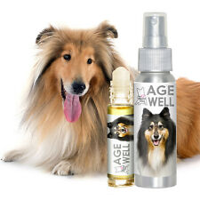 COLLIE AGE WELL DOG AROMATHERAPY FOR CANINE SENIOR EMOTIONAL & MENTAL SUPPORT