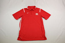 NEW Nike Rutgers Scarlet Knights - Red Dri-Fit Polo Shirt (Multiple Sizes)