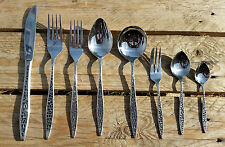 Vintage VINERS MOSAIC stainless steel cutlery various pieces