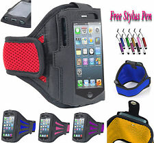 Sports Gym Running Jogging Armband Case Cover Stand Fits For HTC One M9 UK