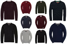 New Mens Superdry Knitwear Selection. Various Styles & Colours.