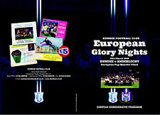 Dundee FC v Anderlecht 1962/63 European Cup Commemorative Programme (March 2013)