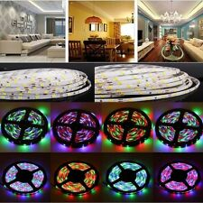 WS68 12 RGB 5050 SMD Waterproof Flexible USB 5V LED Black Strip Lamps Light TOP!