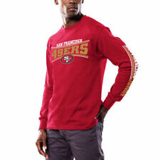 San Francisco 49ers Majestic Primary Receiver Long Sleeve T-Shirt - NFL