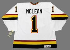 KIRK MCLEAN Vancouver Canucks 1994 CCM Vintage Throwback Home NHL Hockey Jersey