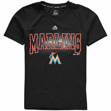Miami Marlins Majestic MLB Youth Light Up The Field  T-Shirt