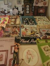 MIXED LOT CROSS-STITCH & CROCHET CRAFT PATTERN BOOKLET/LEAFLET***CHOOSE ONE***