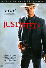 JUSTIFIED Complete FIRST Season One DVD 3-Disc Set FX