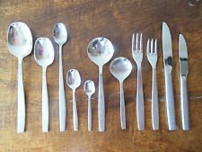 VINERS CHELSEA stainless steel cutlery various pieces vintage
