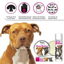 AMERICAN STAFFORDSHIRE TERRIER ALL NATURAL NOSE BUTTER FOR DRY, CRUSTY DOG NOSES