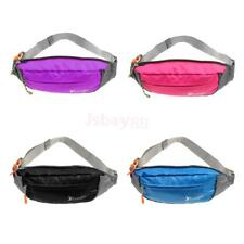 Waterproof Sport Waist Belt Bum Bag Fanny Pack Running Hiking Cycling Zip Pouch