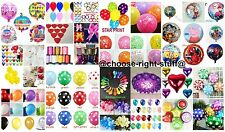 10 Plain Polka Dot Pearl Heart Shape Balloons Foil baloon Ribbon BALLOON WEIGHT