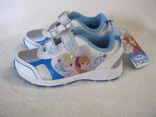 NEW DISNEY FROZEN ELISA & ANNA GIRLS TODDLERS ATHLETIC SHOES  5, 6, 7, 8, 9, 10