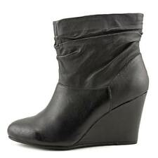 Chinese Laundry Womens U Bet Leather Almond Toe Ankle Fashion Boots