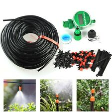 DIY Watering System Automatic Timer Plant Water Drip Irrigation Tool Garden Hose