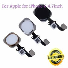 New Touch ID Sensor Home Button Key Flex Cable Replacement for iPhone 6 & GV