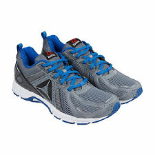 Reebok Reebok Runner Mens Grey Mesh Athletic Lace Up Running Shoes