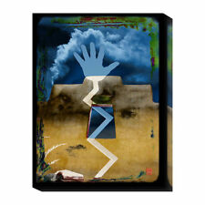 Global Gallery Santa Fe Hand by Suzanne Silk Graphic Art Print on Canvas