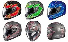 HJC FG-17 Banshee Motorcycle Helmet - DOT/Snell - Brand New! Closeout Pricing!