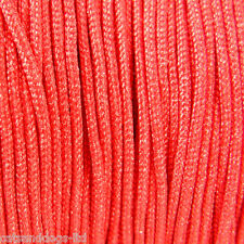 1.8mm Nylon cord thread RED- JEWELLERY BRACELET CORD KNOTTED Choose Your Length