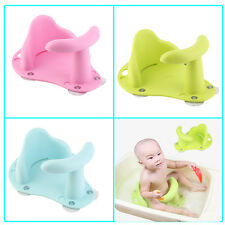 Baby Bath Tub Ring Seat Infant Child Toddler Kids Anti Slip Safety Chair FFR
