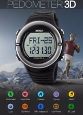 New Gym Watch Heart Rate Monitor Calorie Counter Sport Running Jogging Pedometer