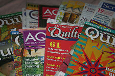CHOOSE a magazine Quilt mags American Quilter Quilt Life Quilter Newsletter more