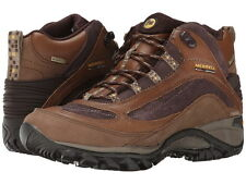 Merrell Womens Hiking Boots Siren Mid NIB Waterproof All Sizes Brown Free Ship
