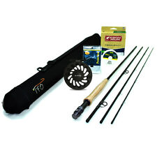 "NEW - TFO Professional II Fly Rod Outfit (6wt, 10'0"", 4pc) - FREE SHIPPING!"