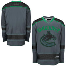 Vancouver Canucks Reebok Cross Check Premier Jersey - Storm - NHL