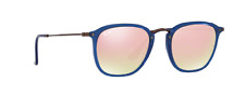 NEW AUTHENTIC UNISEX RAY BAN RB2448N-1 CRYSTAL GRADIENT100%UV MADE IN ITALY