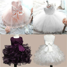 Summer Girls Wedding&Birthday Party Dresses Princess Dress Clothes For Baby