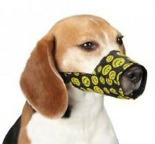 Guardian Gear Dog Muzzle Lined Printed Smiley Smile Face for X Large Breeds Only
