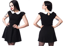 POIZEN INDUSTRIES GOTHIC BLACK SUICIDE DRESS PUNK ALTERNATIVE WEDNESDAY