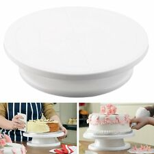 11 Rotating Revolving Cake Plate Decorating Turntable Kitchen Display Stand GF
