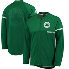 Boston Celtics adidas 2016 On-Court Jacket - Kelly Green - NBA