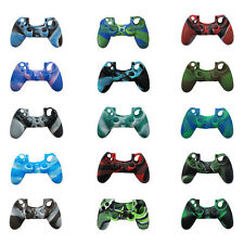 Soft Silicone Camo Cover Case For Sony PS4 Controller Joystick Protective Skin