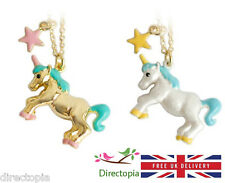 Unicorn Necklace Fantasy Fairy Tale Horse Kawaii Cute Kitsch Fantasy 18""