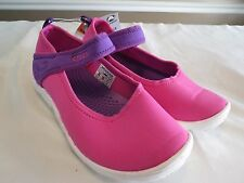 CROCS DUET BUSY DAY MARY JANE NEON MAGENTA NEON PURPLE KIDS JUNIOR