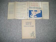 Extremely Rare Dick and Jane Book- Sally Does It - MINT WITH DUST JACKET