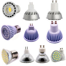 Bright Dimmable Led Spotlight E27 GU10 MR16 White COB Lights /SMD Lamp/3030 Bulb