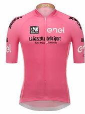 Santini Pink 2017 Ditalia Leaders Short Sleeved Cycling Jersey