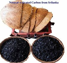 Coconut Shell Activated Charcoal (Carbon) 100% Natural Pure Quality From Ceylon