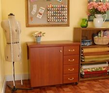 ARROW Norma Jean Sewing Cabinet -Optional Quilt Leaf & Insert